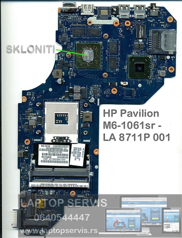 HP M6-1061sr - LA 8711P 001